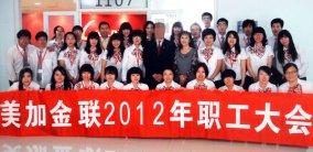 2012年度美加金联公司职工大会圆满落幕